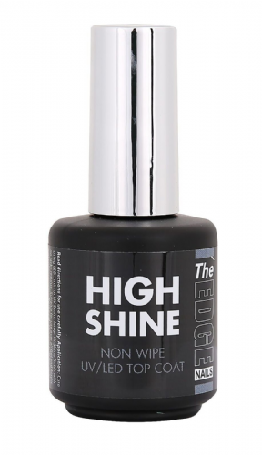 The Edge High Shine Non Wipe Top Coat UV/LED